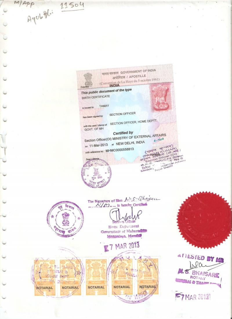Holiday travellers desk pvt ltd marriagebirthleavingpcc marriagebirthleavingpccdegree certificate apostille service in punemaharashtraindia aiddatafo Gallery